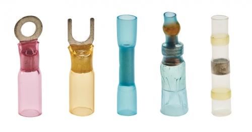 Wasserdichte Kabelschuhe und Verbinder